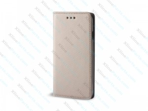 Flip Case Magnetic LG K8 (2017) dark gold