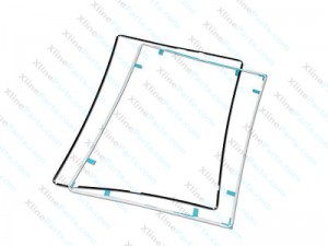 Frame Touch Apple IPad 2 IPad 4 white