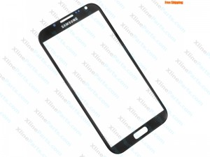 Glass Samsung Galaxy Note 2 N7100 black