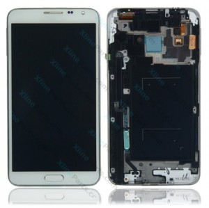 LCD with Touch and Frame Samsung Galaxy Note 3 Neo N7505 white OCG