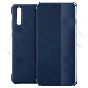 Flip case Smart View Huawei P20 deep blue (Original)