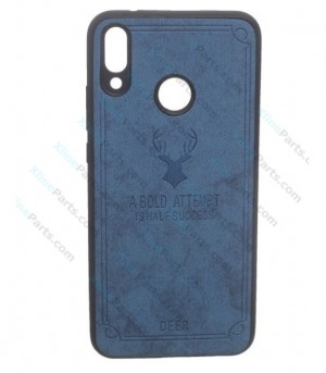 Silicone Case Deer Xiaomi Note 7 Pro blue