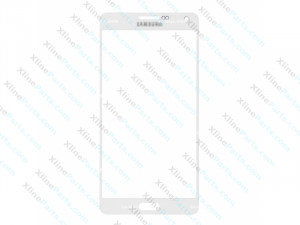 Glass Samsung Galaxy A5 A500 white