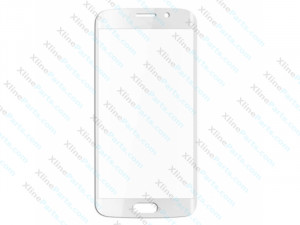 Glass Samsung Galaxy S6 Edge Plus G928 white