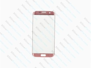 Glass Samsung Galaxy S7 G930 pink gold