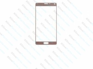 Glass Samsung Galaxy Note 4 N910 gold
