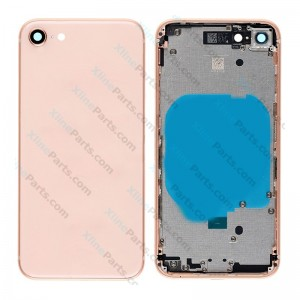 Back Battery and Middle Cover Apple iPhone 8 gold Complete