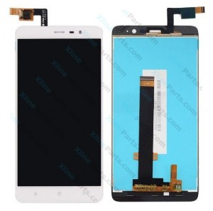 LCD with Touch Xiaomi Redmi Note 3 white OCG