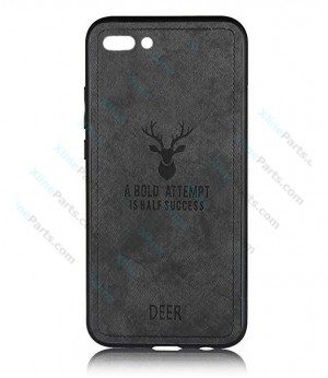 Silicone Case Deer Honor 10 black