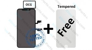 LCD with Touch Apple iPhone XS Max black OCG