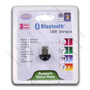Bluetooth Wireless USB Dongle black