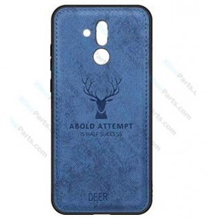 Silicone Case Deer Huawei Mate 20 Lite blue