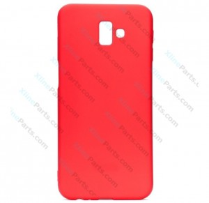 Silicone Case Jelly Samsung Galaxy J6 Plus (2018) J610 red
