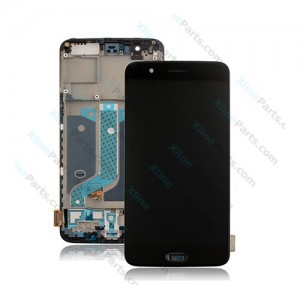 LCD with Touch and Frame OnePlus 5 black OCG