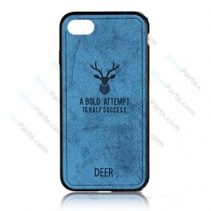 Silicone Case Deer Apple iPhone 7/8 blue