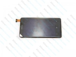 LCD with Touch and Frame Nokia Lumia 800