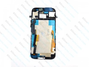 LCD with Touch and Frame HTC One M8 black