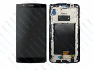 LCD with Touch and Frame LG G4 H815 black OCG