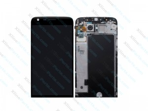 LCD with Touch and Frame LG G5 SE black OCG