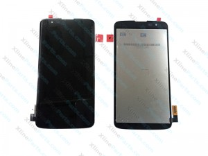 LCD with Touch and Frame LG K8 K350 black