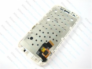 LCD with Touch and Frame Motorola Moto G XT1033 XT1032  white
