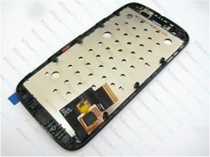 LCD with Touch and Frame Motorola Moto G XT1033 XT1032  black