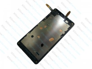 LCD with Touch and Frame Nokia Lumia 535 Version 1607 black