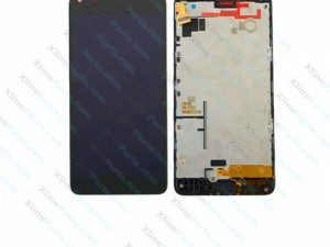LCD with Touch and Frame Nokia Lumia 640 black