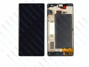 LCD with Touch and Frame Nokia Lumia 730 black