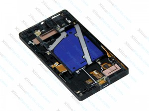 LCD with Touch and Frame Nokia Lumia 930 black OCG