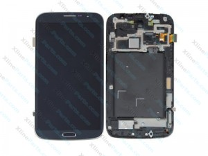 "LCD with Touch and Frame Samsung Galaxy Mega 6.3"" I9205  blue"