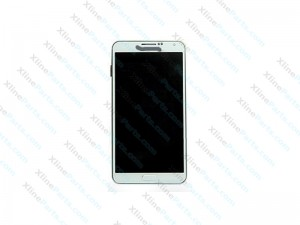 LCD with Touch and Frame Samsung Galaxy Note 3 N9005 white gold (Original)