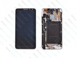 LCD with Touch and Frame Samsung Galaxy Note 3 Neo N7505 black OCG