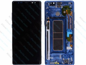 LCD with Touch and Frame Samsung Galaxy Note 8 N950 blue (Original)