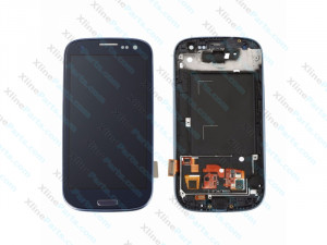 LCD with Touch and Frame Samsung Galaxy S3 Neo I9301 black OCG