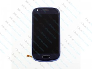 LCD with Touch and Frame Samsung Galaxy S3 Neo I9301 blue OCG