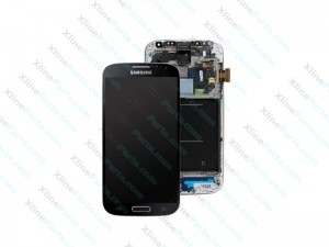 LCD with Touch and Frame Samsung Galaxy S4 I9505 black edition OCG