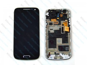 LCD with Touch and Frame Samsung Galaxy S4 Mini I9195 black (Original)