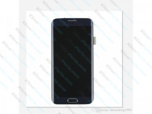 LCD with Touch and Frame Samsung Galaxy S6 Edge G925 black (Original)