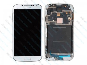 LCD with Touch and Frame Samsung Galaxy S7 Edge G935 white (Original)