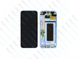 LCD with Touch and Frame Samsung Galaxy S8 plus G955 blue (Original)