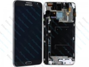 LCD with Touch and Frame Samsung Galaxy Note 3 Neo N7505 black (Original)