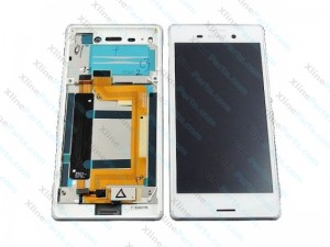 LCD with Touch and Frame Sony Xperia M4 Aqua E2303 white