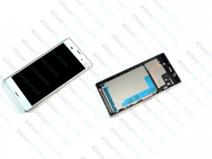 LCD with Touch and Frame Sony Xperia Z3 D6603 white