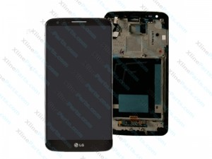 LCD with Touch and Frame LG D802 G2 black