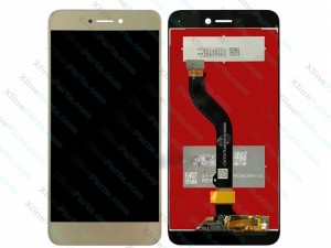 LCD with Touch Huawei P8 Lite (2017) gold OCG
