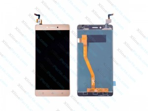 LCD with Touch Lenovo K6 Note gold OCG