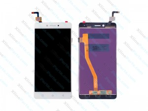 LCD with Touch Lenovo K6 Note white