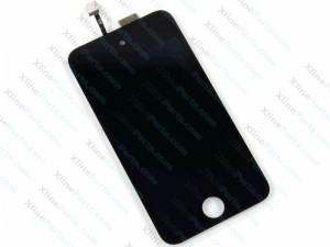 LCD with Touch Apple iPod 4G Black