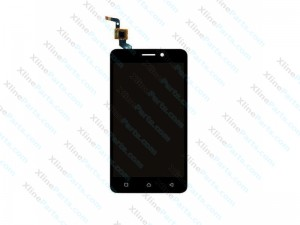 LCD with Touch Panel Lenovo K6 dark grey